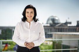 Staatsministerin Dorothee Bär, Beauftragte der Bundesregierung für Digitalisierung.